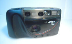 Nikon Rd2 Pands 35mm Film Camera F=35mm Tested / Battery Cover Broken-m205