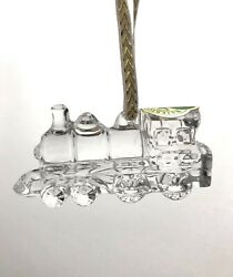 Waterford Crystal My First Train Christmas Ornament Childhood Memories 2.5 1990
