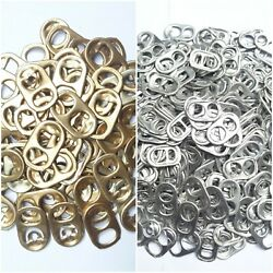 500 Aluminum Pull Tabs Coke Beer Tabs Tops Aluminum Can Charity Arts And Craf