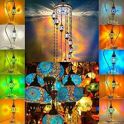 Handcrafted Turkish Mosaic Desk Lamps Approved By Uk Standard Authorities