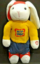 2002 Avon Kids Hip Hop Harry Hopping amp; Dancing Plush Bunny Rabbit Unused