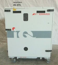 Edwards Qmb250f Qdp40 Pump Blower Stack Non-working For Parts