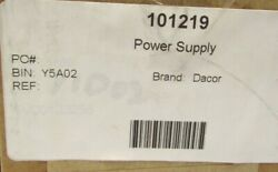 Dacor Microwave Power Supply Board New 101219 For Microwave In A Drawer Mmdv30s