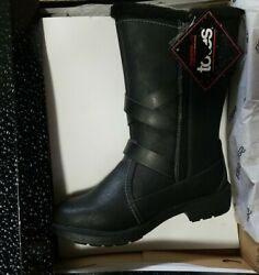 8M Totes Women#x27;s Diedre Black Women#x27;s Winter Boots SIZES NIB NEW $32.99