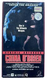 China O Brien Vhs Action Tested 1991 Imperial Video Cynthia Rothrock Martial Art