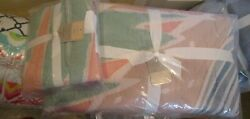 Pottery Barn Roxy Vintage Patchwork King Quilt + 1 King Sham New