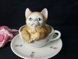 Cat In A Teacup - Music Box By Mann - Plays Memories