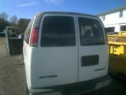 No Shipping Driver Rear Back Door With Window Swing Out Fits 96-18 Express 250