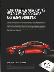 Mazda 6 New Car Change The Game Forever Zoom Zoom 2013 Print Ad