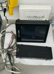 Sea Ray Navigator/gps Complete Unit Cords And Sun Cover Parts Only