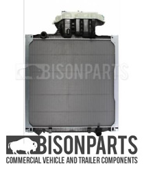 Fits Man Tgs And Tgx 2007 - 2013 Radiator And Header Tank Assembly Nis62873