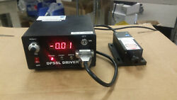 Oem Laser Systems Dpssl Driver Psu-iii Led Laser Power Supply With Laser Head
