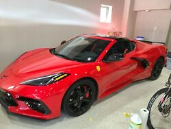 2020 C8 Corvette Custom Fender Badges Resin Dome Available In Red And Yellow