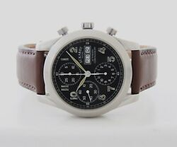 Eckardt Valjoux 7750 Chronograph Automatic 40mm Stainless Steel Menand039s Watch
