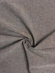 Fabric By The Yard Chambray Charcoal Denim 100 Cotton High Quality