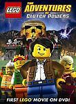 Lego: The Adventures of Clutch Powers DVD MOVIE New Factory Sealed Bonus Film $4.99