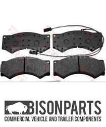 +fits Daewoo A60, A75 And A80 1997 On Front Axle Brake Pad Set C/w Fitting Kit