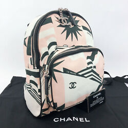 CHANEL Backpack Daypack S0103 Y84107 cruise canvas Women $2400.00