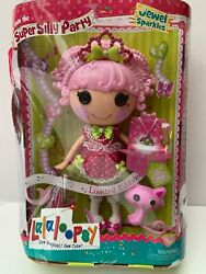 2015 Lalaloopsy Jewel Sparkles Super Silly Partylimited Edition Full Size Doll