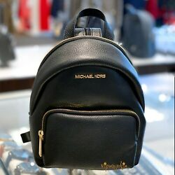 MICHAEL KORS ERIN SMALL CONVERTIBLE BACKPACK LEATHER BLACK $88.89