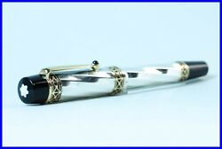 925 Silver Limited Edition Fountain Pen Karl The Great Patron Of Art
