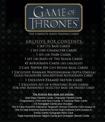 Game Of Thrones The Complete Series Archive Box