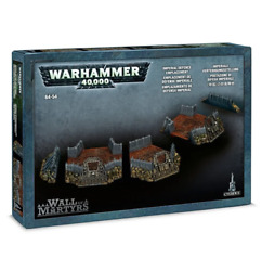 Wall Of Martyrs Imperial Defence Emplacement Terrain Warhammer 40k Nib Defense