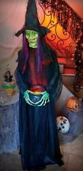 Cackling Life-sized Wiked Witch Halloween Prop Decoration