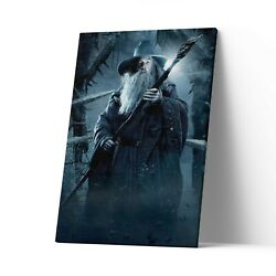 Gandalf Canvas Art Print Lord Of The Rings Wall Art Lotr Poster Painting Decor