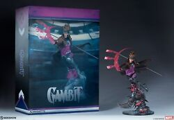 Gambit 1/4 Scale Maquette Sideshow- Regular Edition W/ Shipper New
