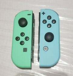 Animal Crossing Themed Left And Right Nintendo Switch Joy Con Controllers