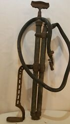 Vintage Twin Tube Pump Air Or Water Tire Bicycle Not Sure.