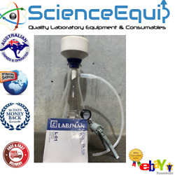 Filtration Buchner Funnel Kit With Single Stage Vacuum Pump Filter Pap 5000ml