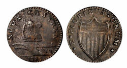 1786 Njersy Copper Narshld Strgt Plow Beam-rarity-2-maris 32-t-w-5100 Imho