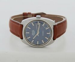 Vintage Zenith Autosport 28800 Automatic Cal. 2562 Stainless Steel 01-1291-290