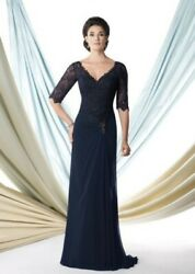 Montage By Georgette Chiffon A-line Mother Of The Bride Groom Dressandnbsp