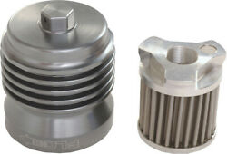 Pc Racing Pcs1 Flo Spin On Stainless Steel Oil Filter .