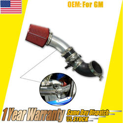 New For Gm Ls1 Lsx Lmx Lqx Motor Universal Na Cold Air Intake Pipe Filter Kit