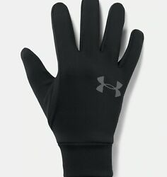 Under Armour Men#x27;s UA Armour Liner 2.0 Gloves 1318546 001 Black Graphite