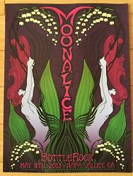 Bottlerock Festival Moonalice Poster 5/9/2013 New Thick Card Stock Beautiful