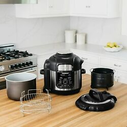 Ninja Foodi 8-qt. Pressure Cooker And Air Fryer 9-in-1 Deluxe Xl Stainless Steel