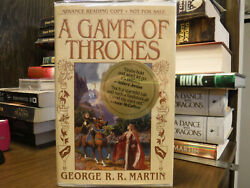 Signed Arc/proof 1st/1st A Game Of Thrones George R R Martin