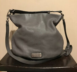 Marc By Marc Jacobs Standard Supply Workwear Gray Leather Hand Shoulder Bag $89.00