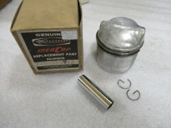 P6a Mercury Quicksilver 729-1949a2 Piston And Pin Assy Oem New Factory Boat Parts