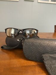 Oakley Sunglasses Half jacket 2.0 Polarized black iridium 009144 04 $75.00