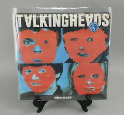 Ex. Rare Talking Heads Remain In Light Lp Srk 6095 Np Portugal Factory Sealed