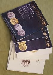 Gemini Numismatic Auctions Ancient Coin Auction Catalogs, 8 From 2006-2012