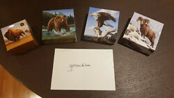 2013/2014 Royal Canadian Mint 100 For 100 Coins Bison/grizzly/eagle/bighorn