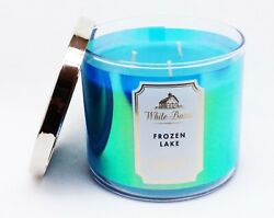 1 Bath And Body Works Wb Frozen Lake 3 Wick Scented Wax Candle 14.5 Large
