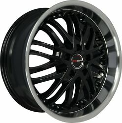 4 G23 20 Inch Black Rims Fits Chevy S10 4wd Zr2 2000 - 2002